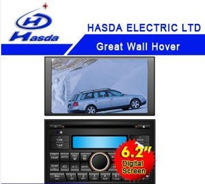 6.2'' Touch Screen Special Car Dvd For Great Wall Hover
