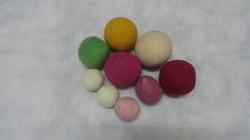 Colored Felts Balls