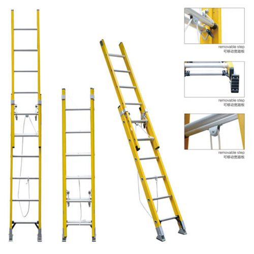 Fiberglass Ladder and Extension Rope Stairs Insulation