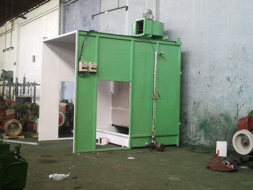 Exclusive Side Draught Water Wash Liquid Painting Booth