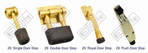 Brass Door Stopper
