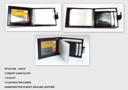Elegant Leather Credit Card Holders