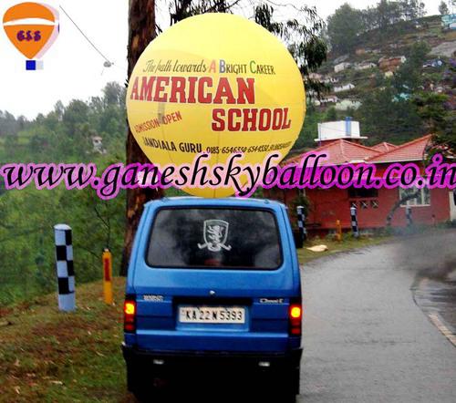 Mobile Van Inflatable