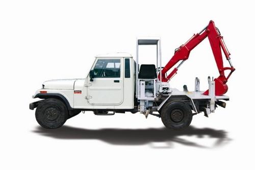 Jeep Mounted De-Silting Machine