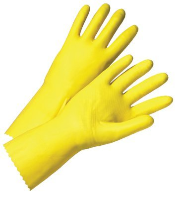 Cotton Supported Nitrile Dipped Gloves