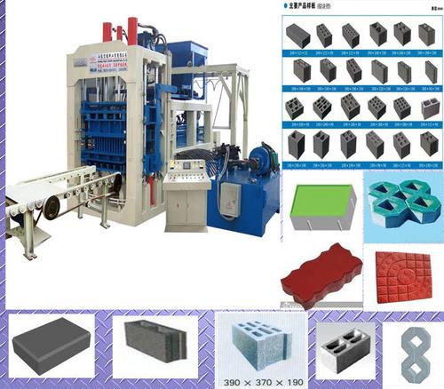 Automatic Block Machine QT10-15