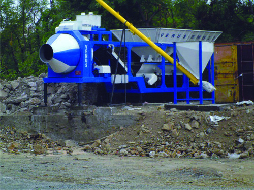 Latest Model Rmb 20-Mobile Concrete Batching Plant
