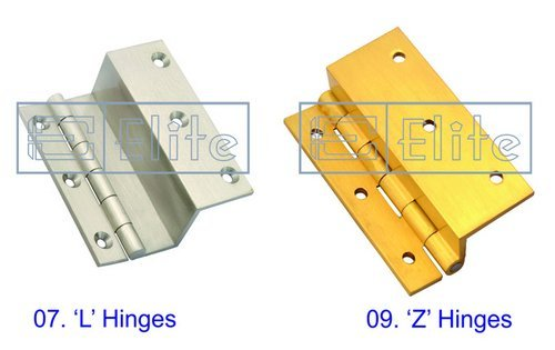 Brass L And Z Hinges