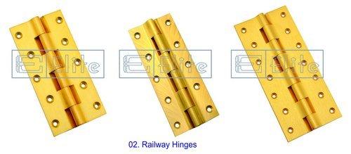 Brass Railway Hinges