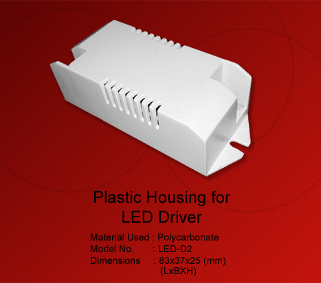 LED Driver Housing Connector Type
