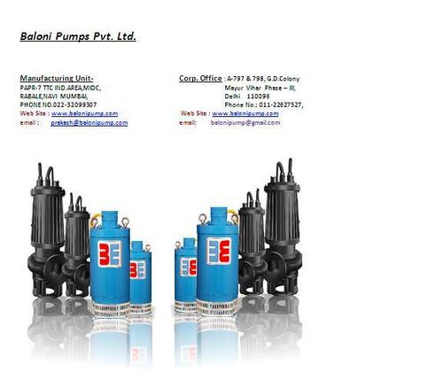 Dewatering Centrifugal Pump