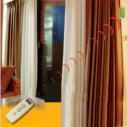 Motorized Curtains In Kangshan Kaohsiung Hsien Taiwan