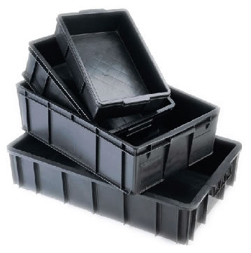Pp Conductive Boxes And Trays