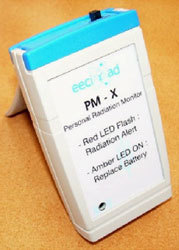 Personal Radiation Monitor Model Pm-X