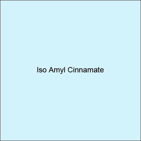 Iso Amyl Cinnamate