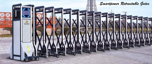 Motorised Retractable Gates