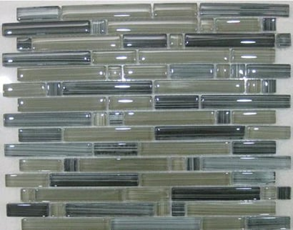 Hand Painted Glass Mosaic