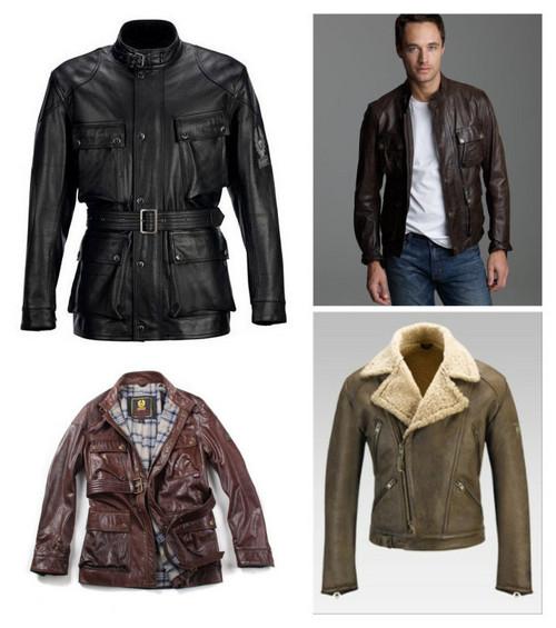 Belstaff Men's Leather Jackets