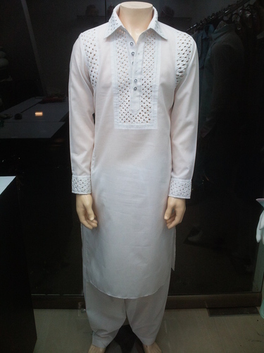 Full White Pathani
