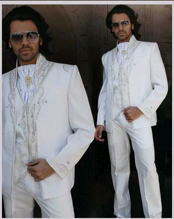 Embroidered Partywear Suit