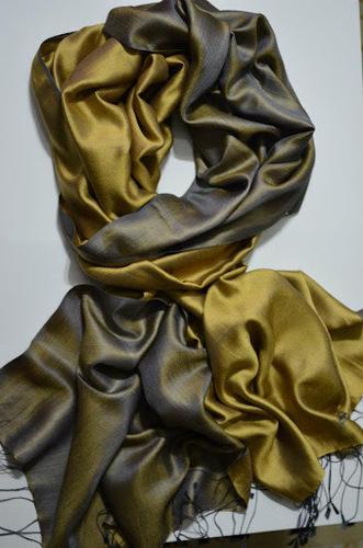 Attractive Plain Silk Scarf