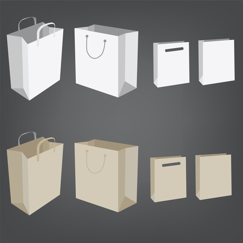 Paper Bag In Matt With Different Colours