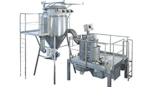 Industrial Spin Flash Dryers