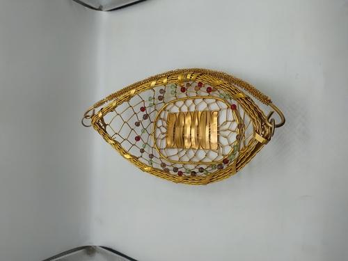 Boat Shape Aluminium Basket