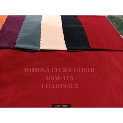 Polyester Mimosa Lycra Fabric