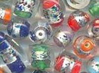 Silver Foil Small Mix Beads