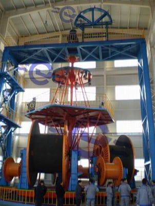 JCL Vertical Type Laying-up Machines For Submarine Cable