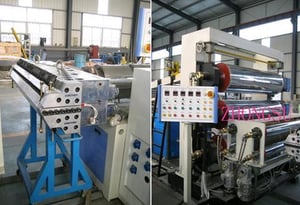 PVC Artifical Marble Board Production Line