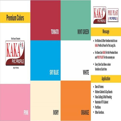 PVC Premium Colour Sheet in Gandhinagar, Gujarat - KAKA PVC PROFILE ...