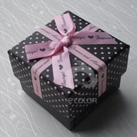 Paper Gift Boxes With Ribbon