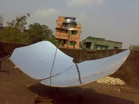 Solar Butterfly Cooker