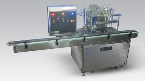 Automatic Four Head Oil Filling Machine