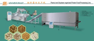 Soya Protein Nugget Production Line