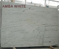 Amba White Granite Block
