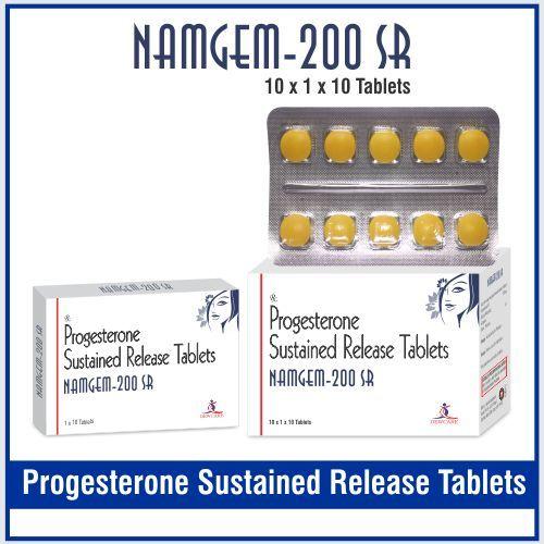 Progesterone SR 200 mg