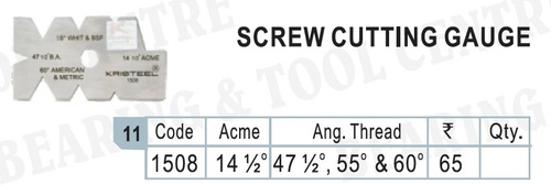 Screw Cutting Gauge