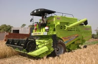 Heavy Duty Self Harvester Combine