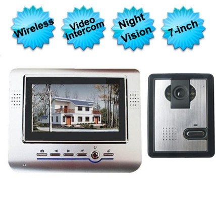 7 Inch Wireless Video Door Phone Intercom System