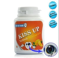 Motion Detection Spy Camera Chewing Gum Container Camera