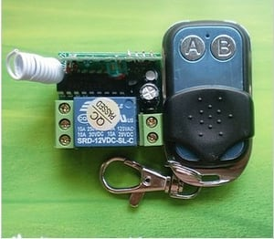 12V Wireless Remote Control Switch Transmitter And Receiver