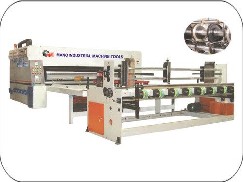 Carton Flexo Printing and Slotting Machine