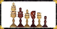 Wooden Chess Coins