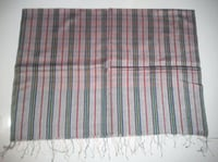 Silk Wool Stripe Scarves