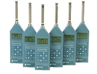 Sound And Noise Level Meter With 1:1 Octave Band Filters