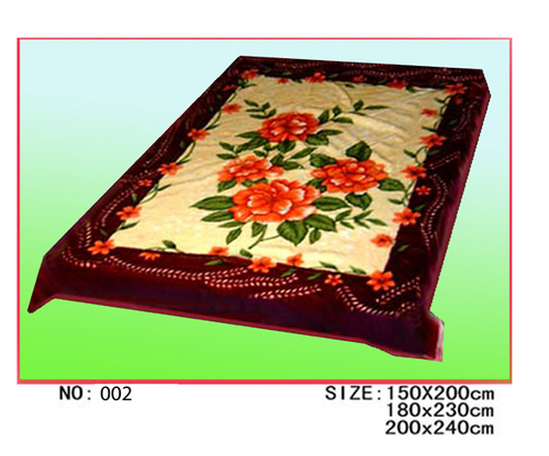 Flower Printed Blanket