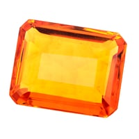 Certified 66.5 CT Natural Yellow Citrine Gemstone
